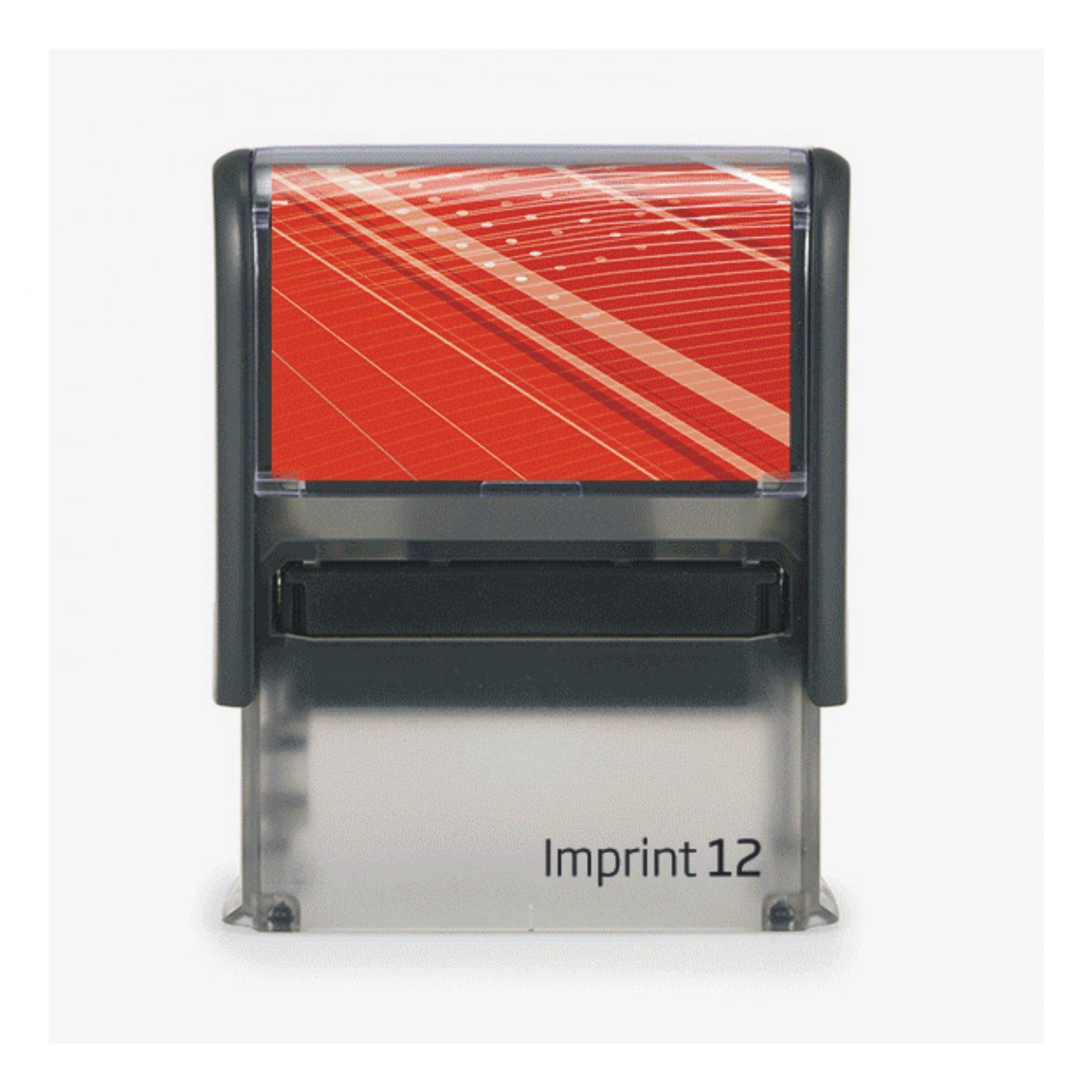 Штамп   на оснастке  Imprint 12